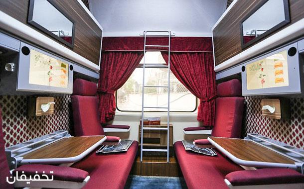 قطار زندگی اولین قطار لوکس در ایران است.
