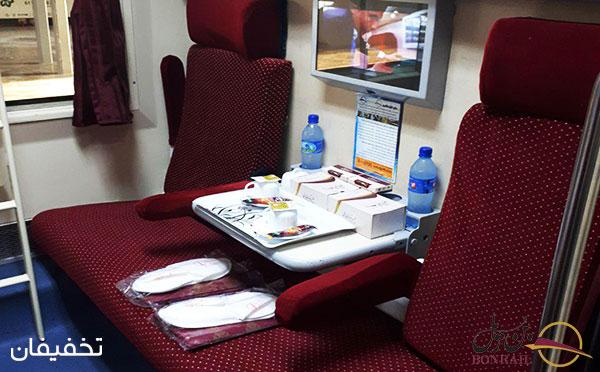 قطار سروش یکی از واگن های خوب بن ریل (شرکت راه آهن شرقی بنیاد) است.