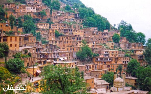 تنها سه روستای پلکانی در ایران وجود دارد. یکی از آنها روستای ماسوله است.