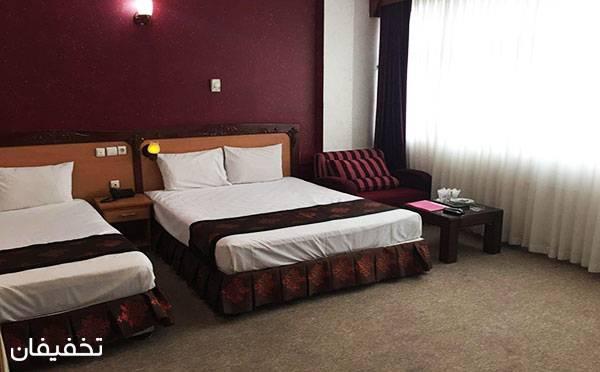 هتل سه ستاره پارمیدا مشهد ویژه یک شب اقامت فولبرد(صبحانه، ناهار، شام) به ازای هر نفر  تا ۳۰% تخفیف