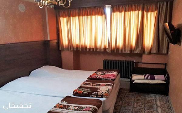 هتل آپارتمان کوثر مشهد ویژه یک شب اقامت تک یا فولبرد تا ۳۰% تخفیف