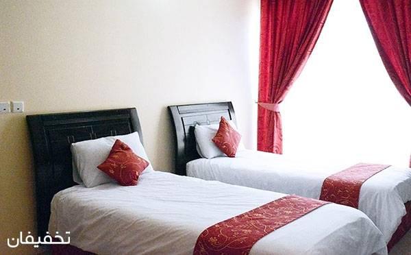 هتل لوتوس کیش ویژه یک شب اقامت به ازای هراتاق با ۳۲% تخفیف