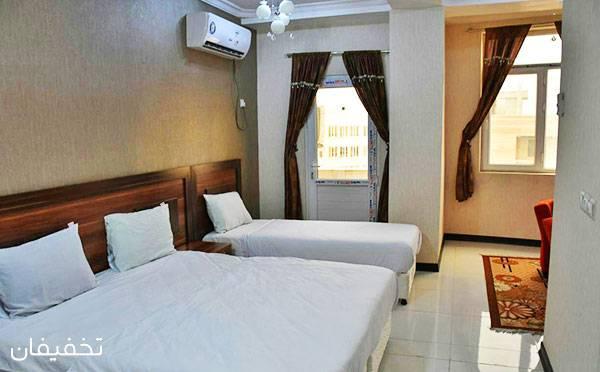 هتل سه ستاره تاپ رویال قشم ویژه یک شب اقامت با ۲۰% تخفیف