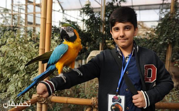 تور پرنده شناسی کودک باغ پرندگان