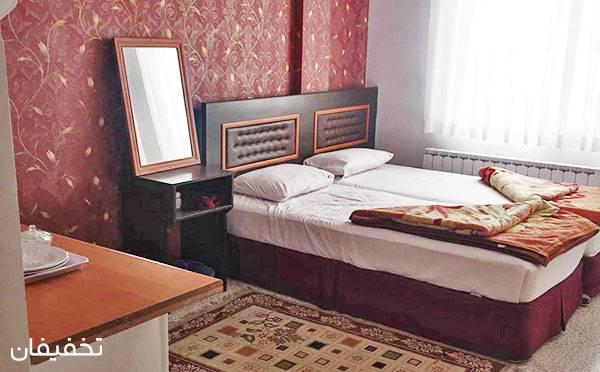 هتل آپارتمان پریناز مشهد ویژه یک شب اقامت فولبرد(صبحانه، ناهار، شام) به ازای هر نفر تا ۳۰% تخفیف