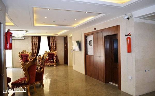 هتل نورنجف مشهد ویژه یک شب اقامت فولبرد(صبحانه، ناهار، شام) به ازای هر نفر تا ۴۰% تخفیف