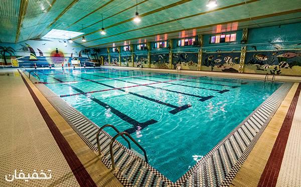 استخر فرات، بزرگترین استخر شرق تهران ویژه شنایی لذت بخش  با ۴۰% تخفیف