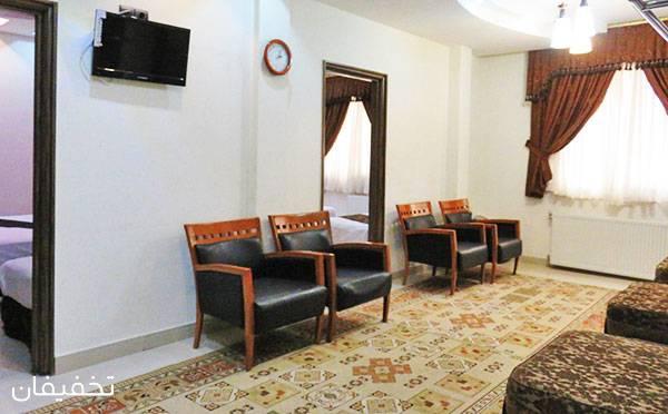 هتل دو ستاره آرسان مشهد ویژه یک شب اقامت فولبرد به ازای هر نفر تا ۳۵% تخفیف
