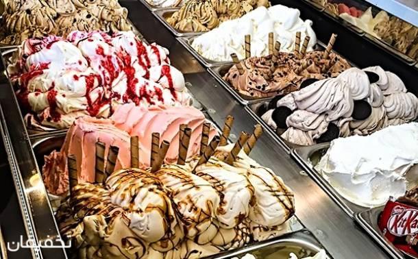 بستنی والیس (شعبه مجتمع تجاری کورش)