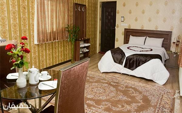 هتل دو ستاره صدف مشهد ویژه یک شب اقامت فولبرد(صبحانه، نهار، شام) به ازای هر نفر (۳۰% تخفیف)