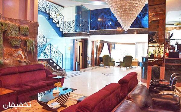 هتل آپارتمان ترنج مشهد ویژه یک شب اقامت فولبرد (صبحانه،ناهار،شام) به ازای هر نفر تا۳۱%تخفیف