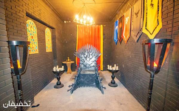 اتاق فرار اسکیپ مستر ویژه اتاق شکنجه شنبه تا چهارشنبه - نارمک