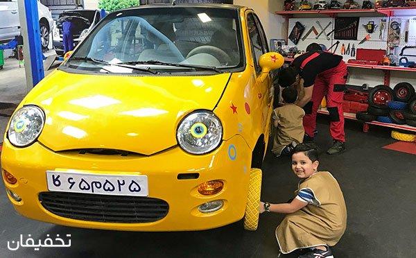 بازی امروز کار فردا: کاربازیا، شهر مشاغل کودکان در برج میلاد تهران تا ۴۱% تخفیف