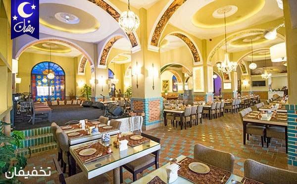 ثبت خاطراتی خوش در رستوران دل انگیز عمارت فردوس ویژه سفارش از منوی شام به همراه موسیقی زنده تا ۵۷% تخفیف