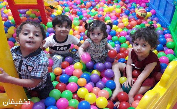 یک ساعت تفریح، بازی، هیجان و سرگرمی در خانه کودک لوتوس با ۷۰% تخفیف